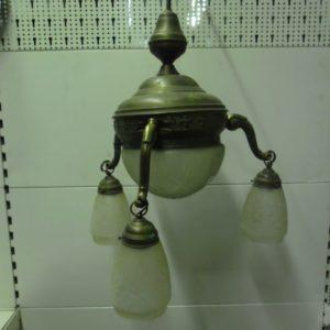 Zeer oude hanglamp uit de jaren 1920 / 1930