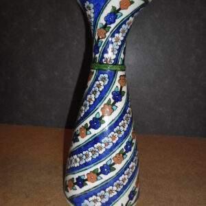 Turkse aardewerk sier vaas