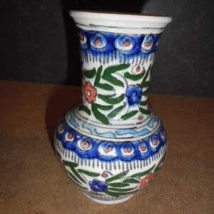 Turkse aardewerk - Sier vaas