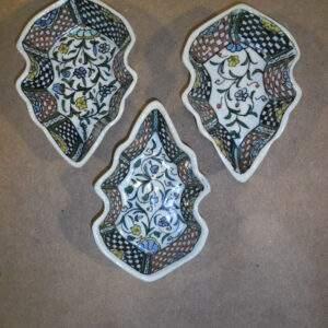 Turks aardewerk - 3 schaaltjes