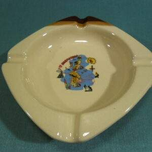 Asbak aardewerk souvenir Karpathos
