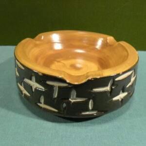 Asbak aardewerk