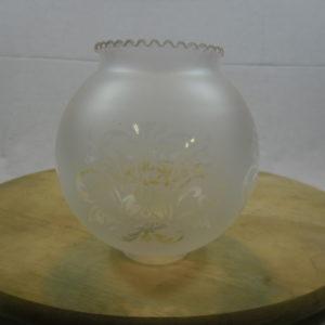 Glazen lampenkapje