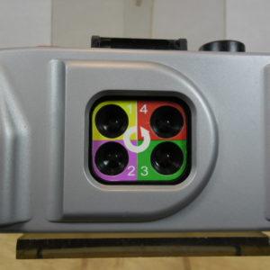 Four lens camera