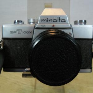 Minolta SRT 100X camera
