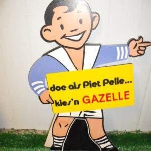 doe als Piet Pelle kies'n Gazelle