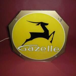 Unieke Gazelle lichtreclame
