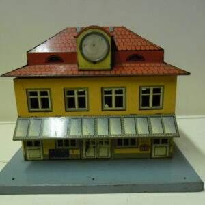 Oud blikken station