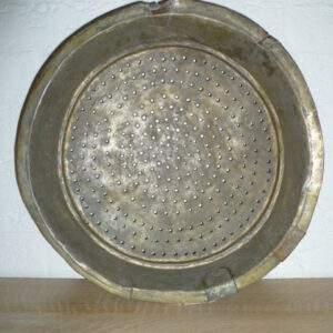Vergiet, oud, decoratief, legering van metalen
