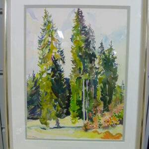 Schilderij Eühstält ,bos aanzicht.