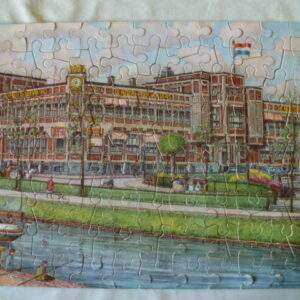 Oude puzzel, compleet,