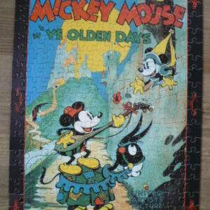 Oude puzzel, Mickey Mouse in
