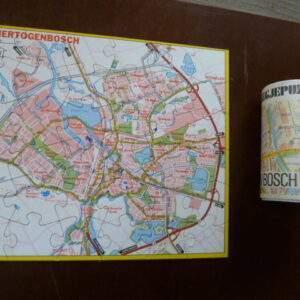 Oude puzzel, Falk, plattegrond 's Hertogenbosch