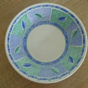 Set van 6 diepe borden, made in England
