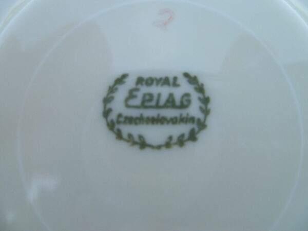 Kop en schotel, Royal Epiag Czechoslovakia