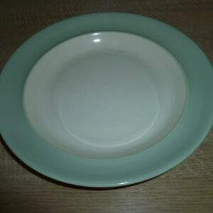 Regina Gouda Holland, diep bord, pastel groene rand