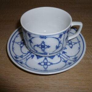 Kop en schotel, Bavaria Saksisch blauw
