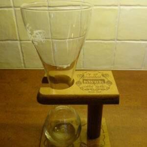 Pauwel Kwak, koetsiersglas met houder