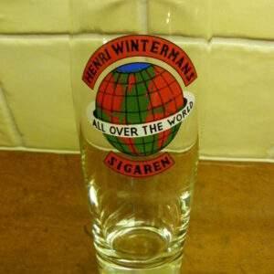 Henri Wintermans Sigaren, glas.
