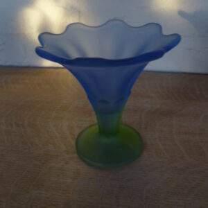 IJscoupe blauw-groen glas