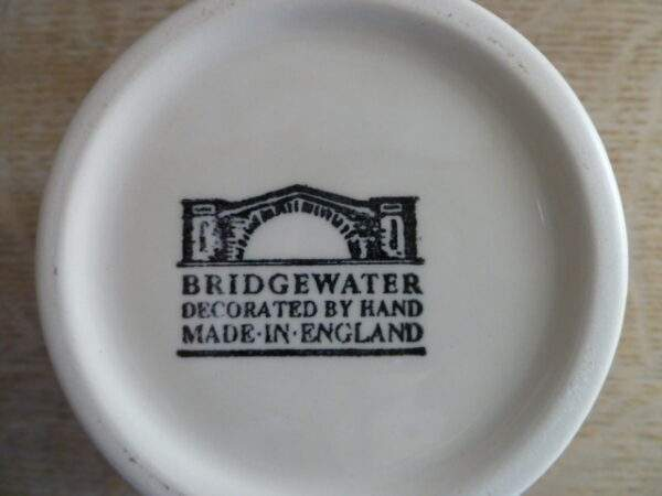 Bridgewater, mok, made in England