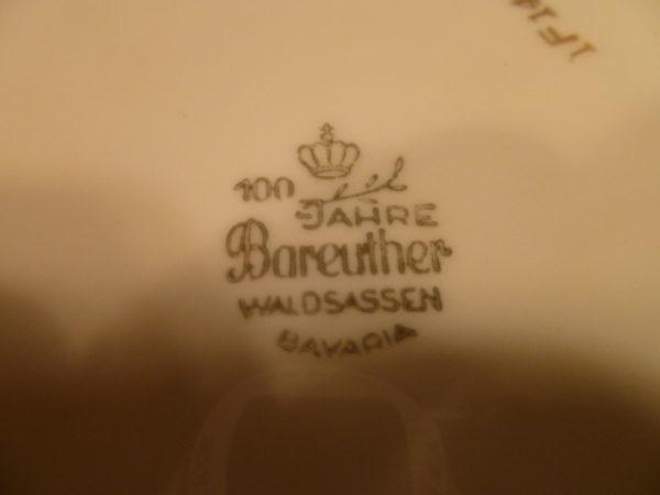 Bord, wilde bloemen, Bareuther Waldsassen Bavaria 100 Jahre