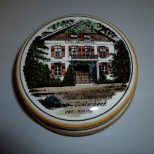 Bonbonschaaltje met afbeelding van Hotel Dreyeroord, Oosterbeek